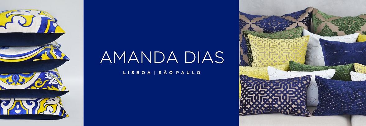 Kissen von Amanda Dias