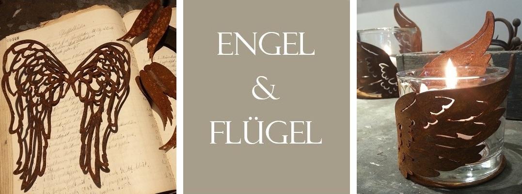 Rostige Engel & Flügel