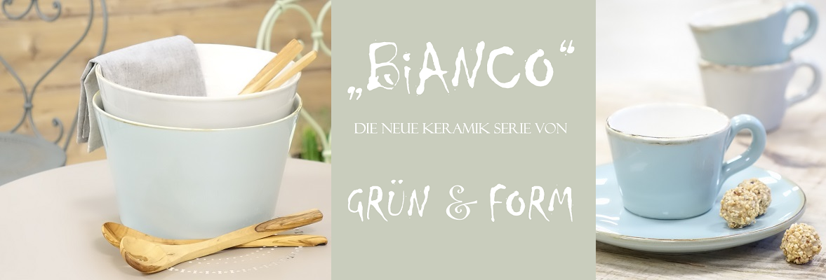 """Grün & Form """"Bianco"""""""