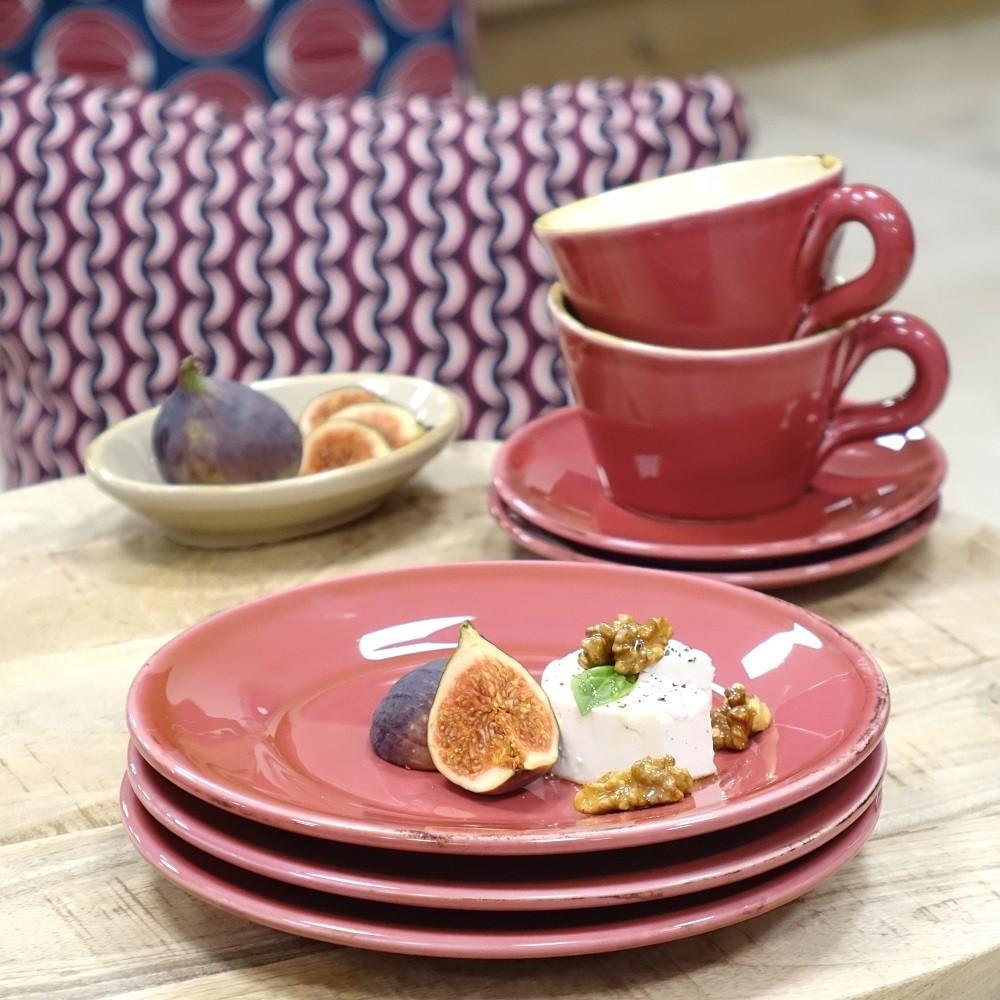 ferrum living gr n form keramik fr hst cksteller himbeere. Black Bedroom Furniture Sets. Home Design Ideas