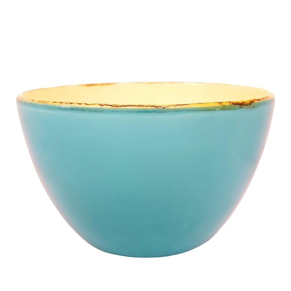 ferrum living gr n und form keramik salatschale t rkis. Black Bedroom Furniture Sets. Home Design Ideas