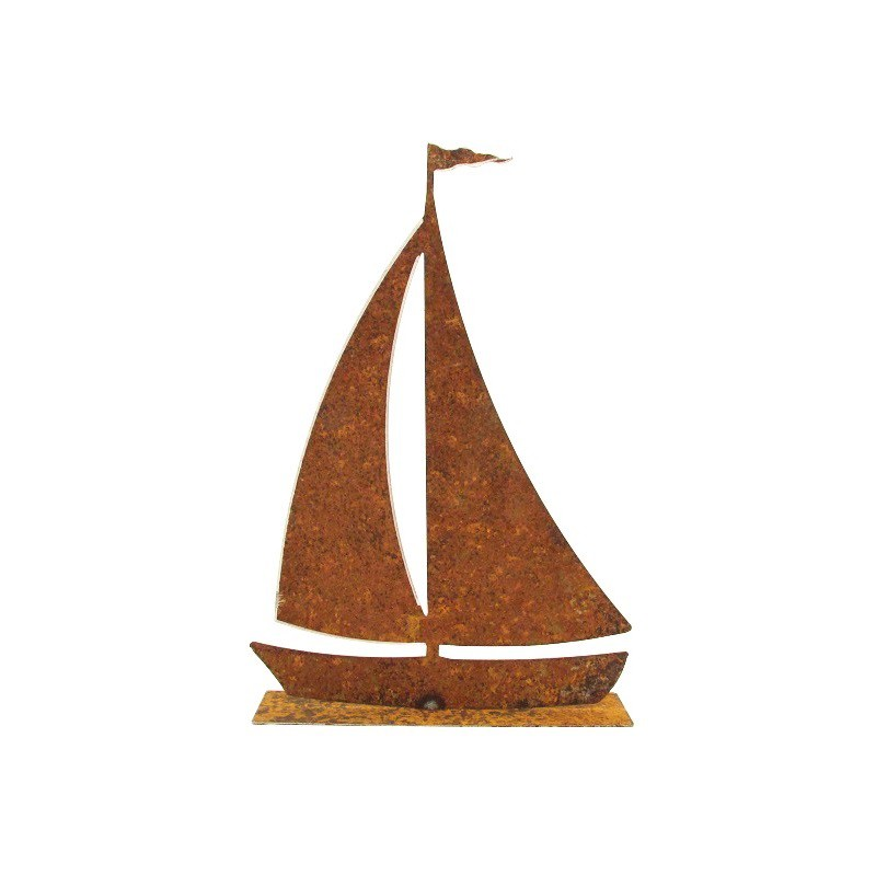 Ferrum living rostiges segelboot mittel for Rostiges deko