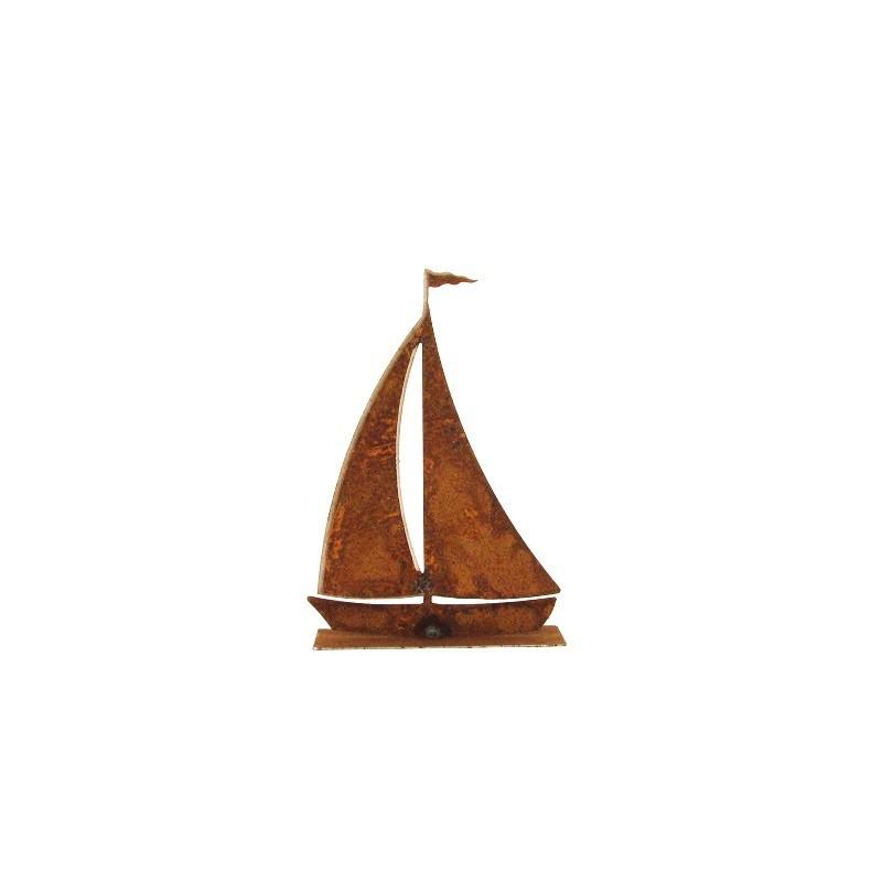 Ferrum living rostiges segelboot klein for Rostiges deko