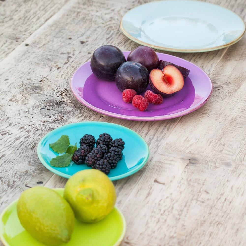 ferrum living gr n form keramik dessert untertassen teller hellgr n. Black Bedroom Furniture Sets. Home Design Ideas