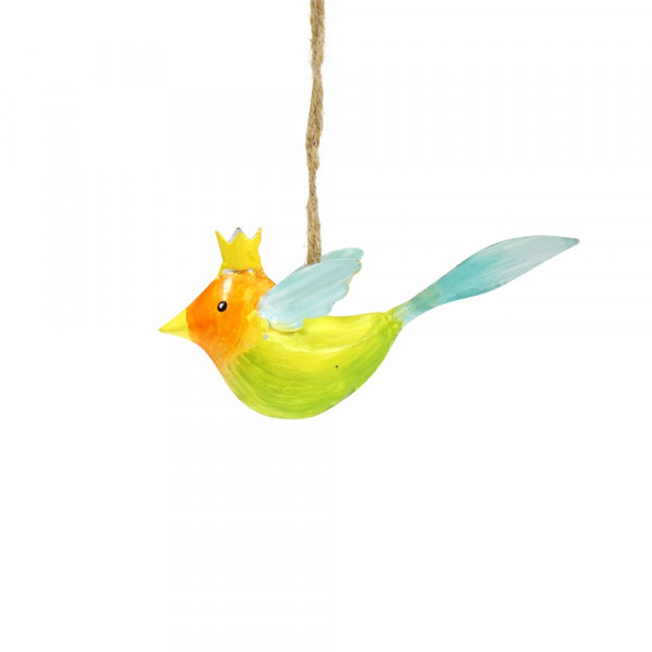 Bunter Metall Vogel zum Hängen