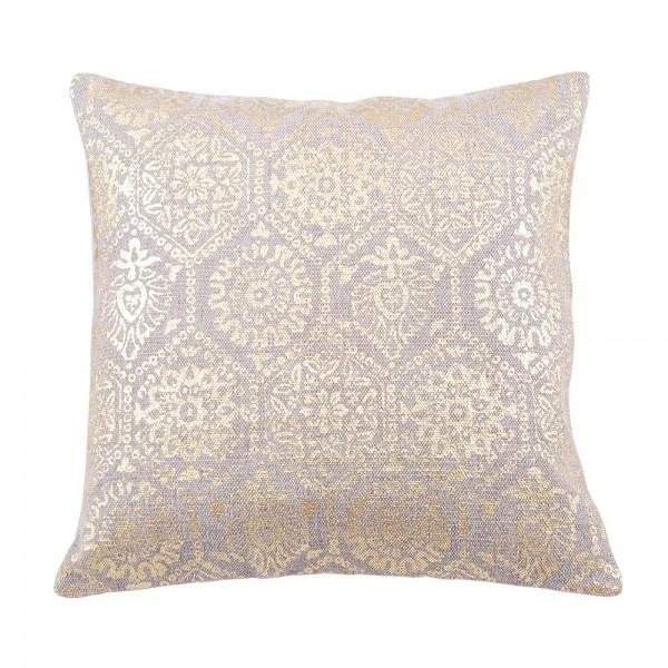 """Deko Kissen """"Marrakesch"""" mit Gold Ornament 50x50 cm"""