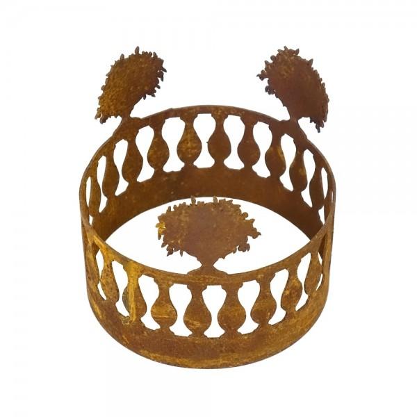 Edelrost Balustraden Ring D 15 cm