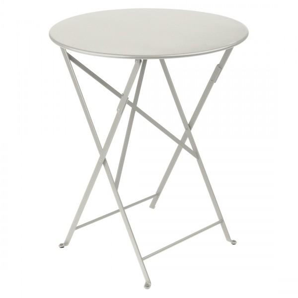 Fermob Bistro Tisch D 60 cm Lehmgrau