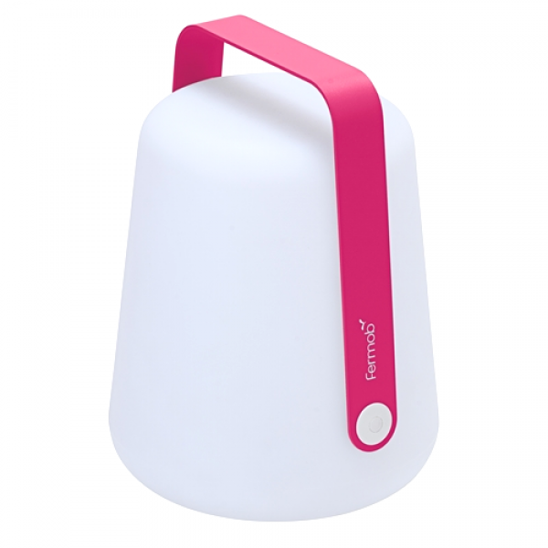 Fermob Outdoor LED Lampe Balad H25 Fuchsia