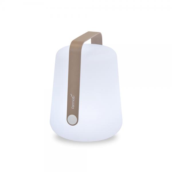 Fermob Outdoor LED Lampe Balad H25 Muskat