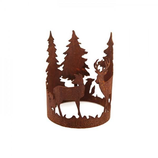 """Rostiger """"Forest"""" Ring Ø15"""