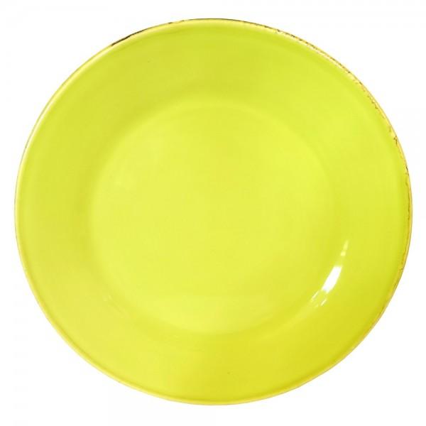 Grün & Form Speise Teller groß apfelgrün