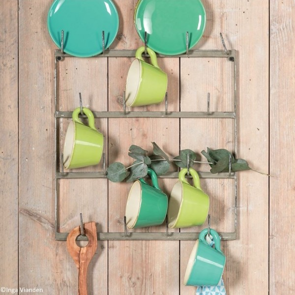 Grün & Form Geschirrhalter für die Wand 46x40 cm