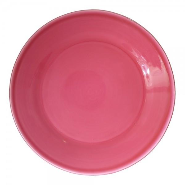 Grün & Form Speise Teller groß Himbeere