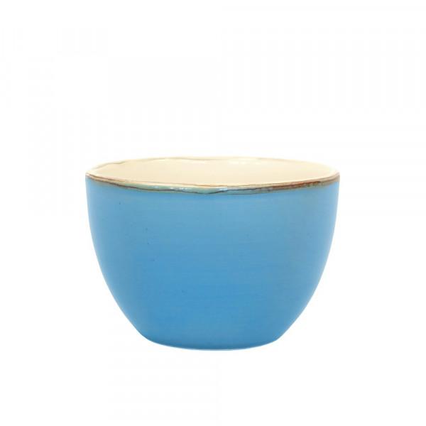 Grün und Form Keramik Schale blau