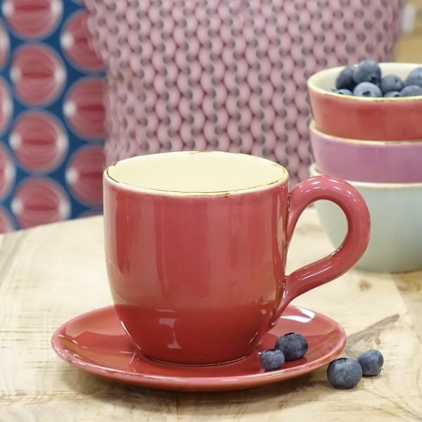 ferrum living gr n form keramik becher pink himbeere. Black Bedroom Furniture Sets. Home Design Ideas