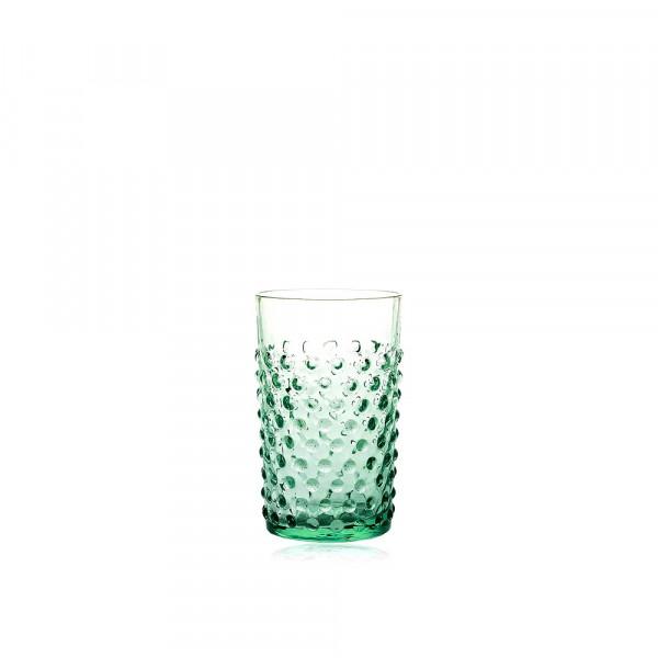 Hobnail Trinkglas Beryl