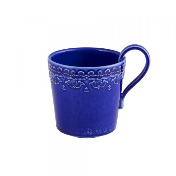 Keramik Becher Rua Nova blau