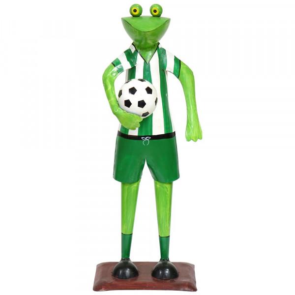 Metall Fußball Frosch