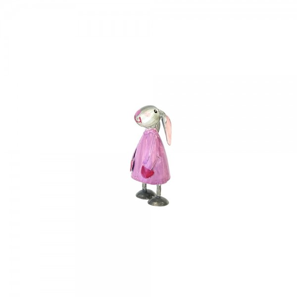 Metall Hase Betty mini Violett von Pape