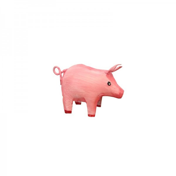 Metall Schwein mini Glück Schwein