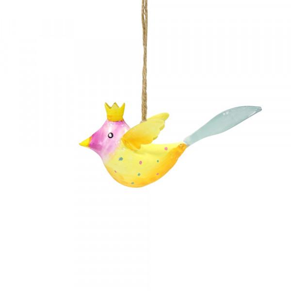 Metall Vogel bunt zum Hängen