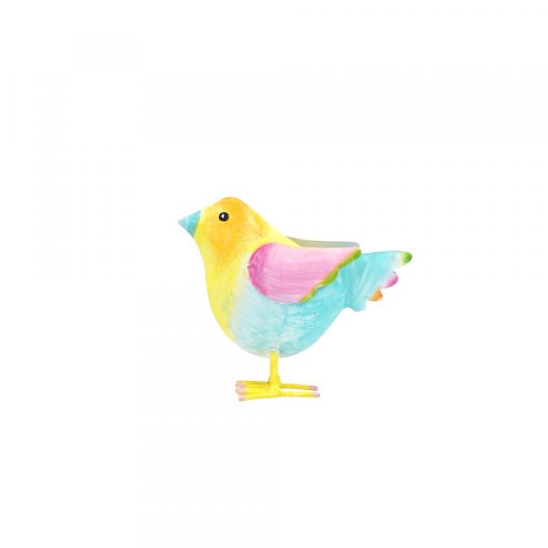 Kleiner Metall Vogel zum Stellen
