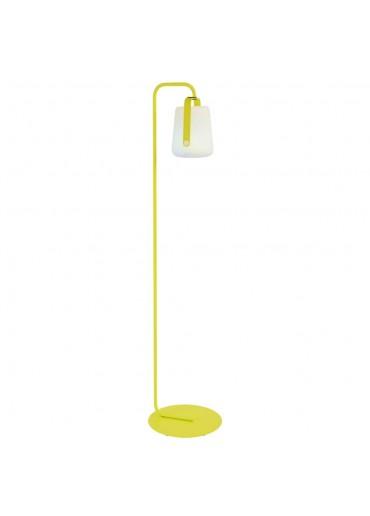 Fermob Set Einfacher Standfuß und Outdoor LED Lampe Balad H25 in Eisenkraut