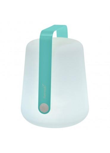 Fermob Outdoor LED Lampe Balad H38 Lagunenblau