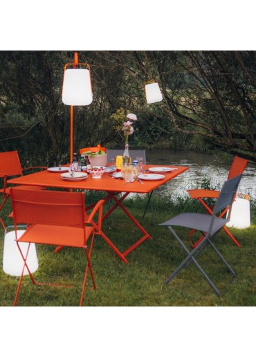 Fermob Outdoor LED Lampe Balad H38 Karotte