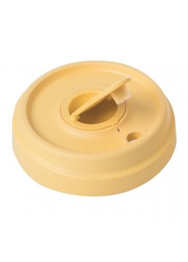 Bamboo Cup verschließbarer Ersatzdeckel Gelb von Chic.Mic
