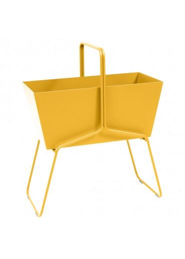 """Fermob """"Basket"""" Blumenkasten hoch Honig"""