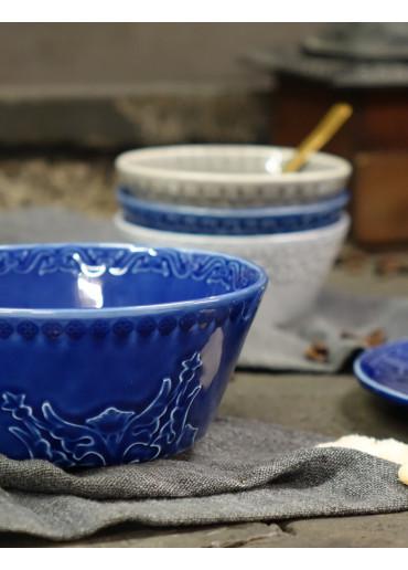 Rua Nova Keramik Schale blau