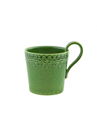 Rua Nova Keramik Becher grün