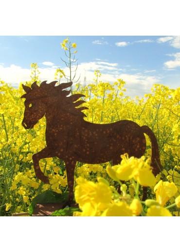 """Edelrost Pferd """"Cavallo"""" klein"""