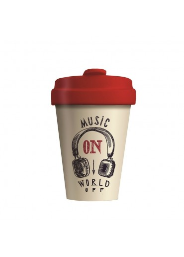 "Bamboo Cup ""Music On"" Chic.Mic"