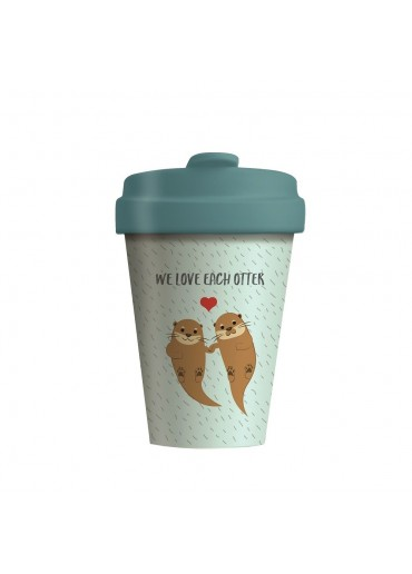 """Bamboo Cup """"Otters"""" Chic.Mic"""