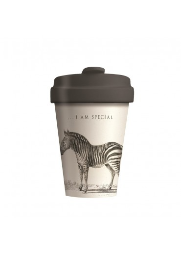 "Bamboo Cup ""Special Zebra"" Chic.Mic"
