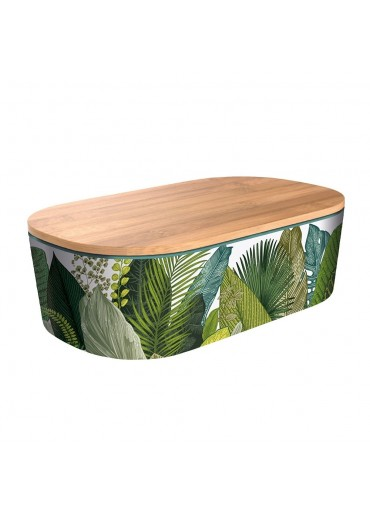 "Bamboofriends Lunchbox Deluxe ""Exotic Leaves"" Chic.Mic"
