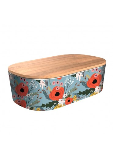 """Bamboofriends Lunchbox Deluxe """"Rustic Flowers"""" Chic.Mic"""