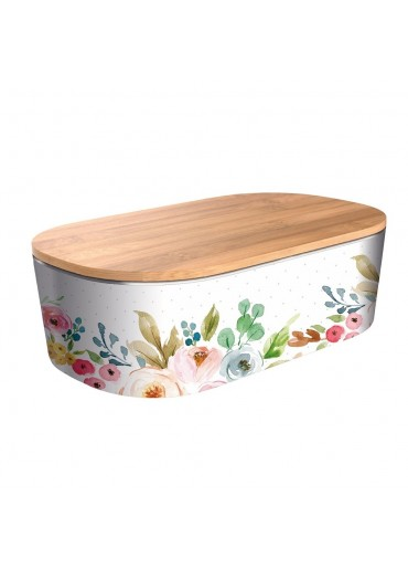 """Bamboofriends Lunchbox Deluxe """"Romantic Flowers"""" Chic.Mic"""