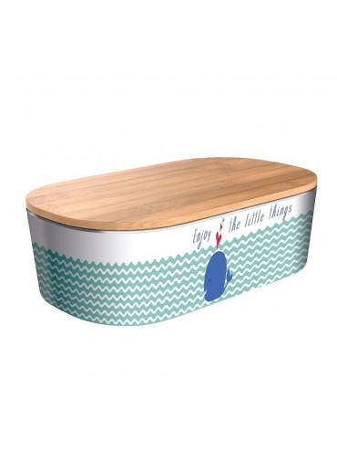 """Bamboofriends Lunchbox Deluxe """"Little Things Whale"""" Chic.Mic"""