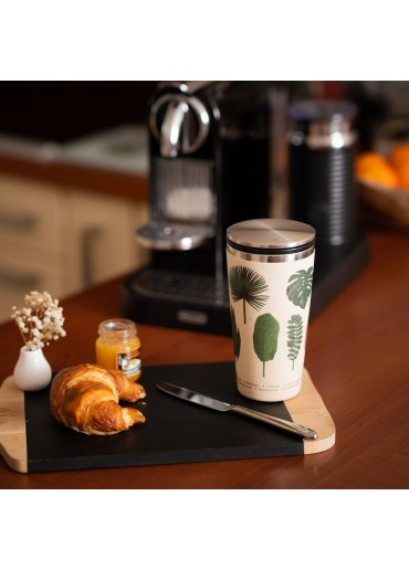 "Slide Cup ""Botanic"" Bamboo Cup Deluxe von Chic.Mic"