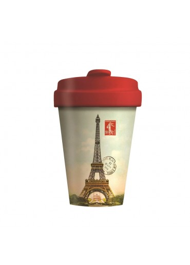 "Bamboo Cup ""Vintage Paris"" Chic.Mic"