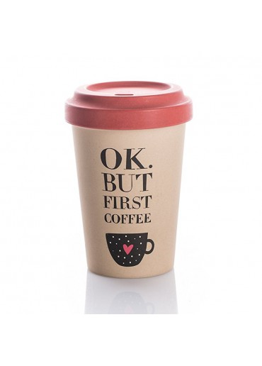 "Bamboo Cup ""Coffee First"" Chic.Mic"