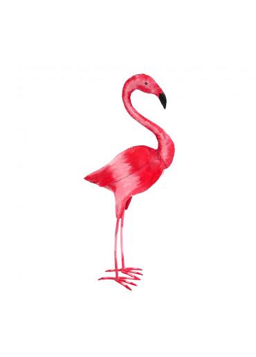 Metall Flamingo pink von Pape