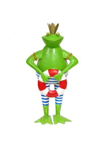 Deko Metall Frosch