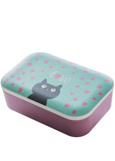 "Bamboofriends Lunchbox ""Kitty"" Chic.Mic"