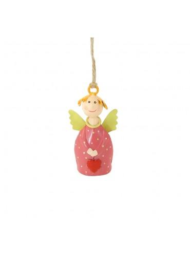 Engel Lotta mini zum Aufhängen rosarot