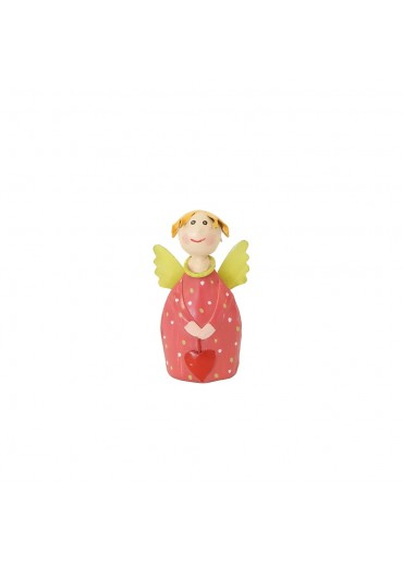 Engel Lotta mini zum Stellen rosarot